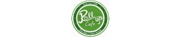 the roll up cafe logo