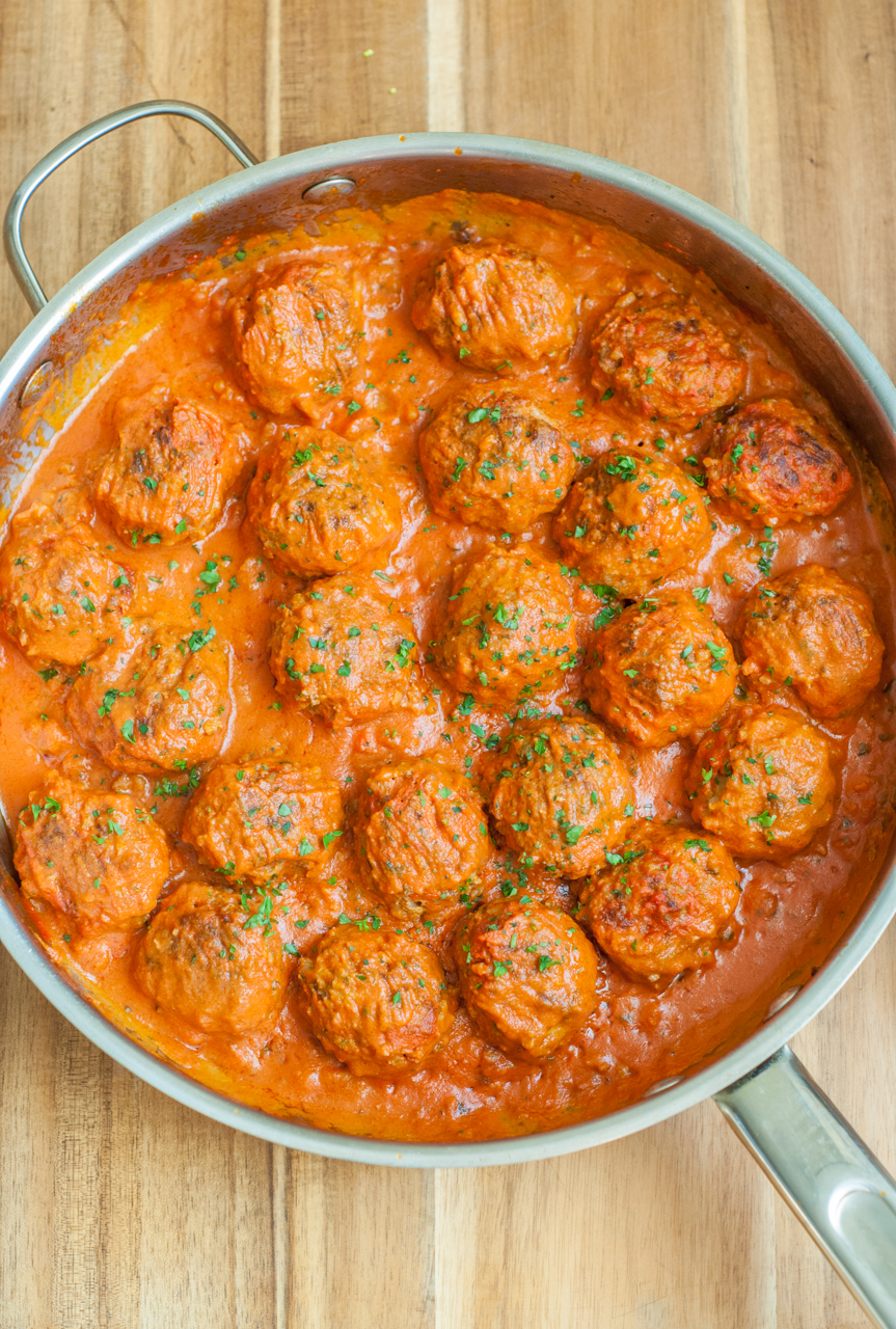 Making meatballs in the pressure cooker is easy, fast and splatter-free. I make them often so I've streamlined the whole process to dirty as few dishes as possible. Meatballs in tomato sauce are a classic Southern Italian recipe, but when they're draped over spaghetti, they're actually.