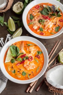 Thai Shrimp Noodle Soup - GastroSenses