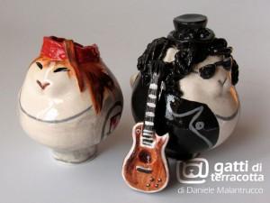 gatti Axl e Slash