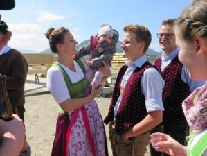 Firstbau zurück gebracht zu Monika und Andreas Pichl 01.05.19