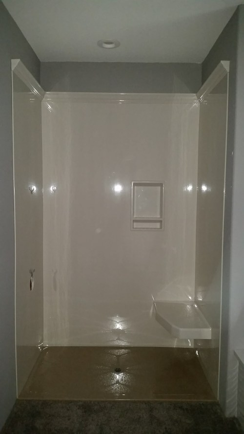 Medium Of Solid Surface Shower