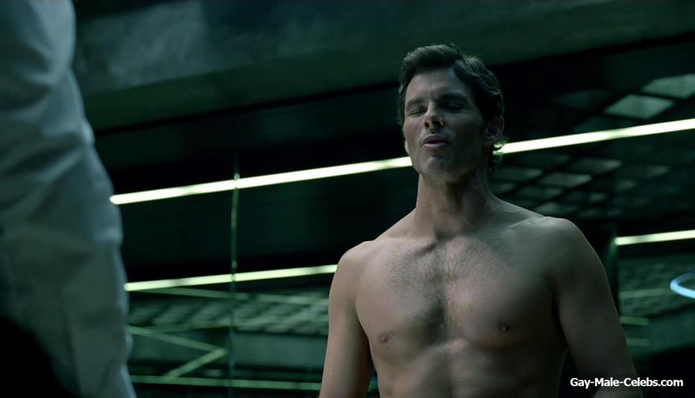 James Marsden Nude Butt in Westworld 1-03 - Gay-Male-Celebs.com