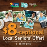 Senior Citizens Enjoy$8 Admission Tickets in July to Wildlife Reserves Singapore Parks