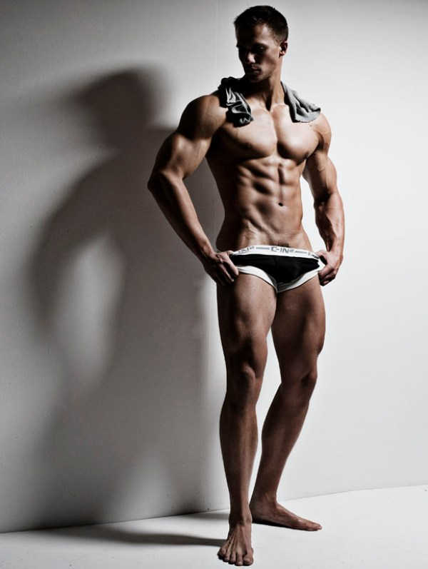 Tyler Davin 14 Beautiful Muscular Physique: Tyler Davin