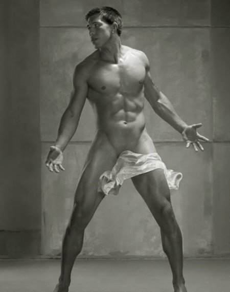 Beautiful Male Nude Male Perfection by Photographer David Vance