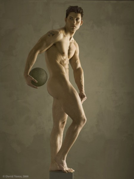 Statuesque Male Nude