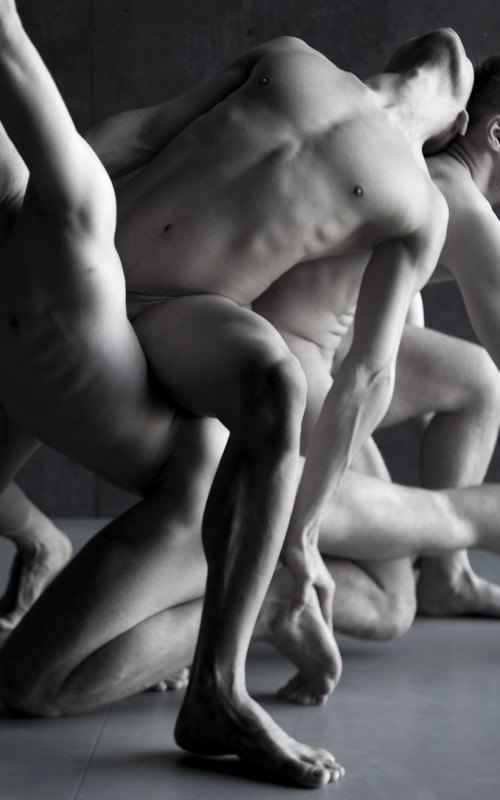 The Naked Dance by Yang Wang - Nude Male