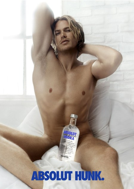 Travis Fimmel Absolut Hunk Model and Actor Travis Fimmel