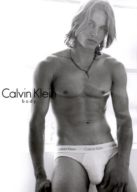 Travis Fimmel For Calvin Klein Model and Actor Travis Fimmel