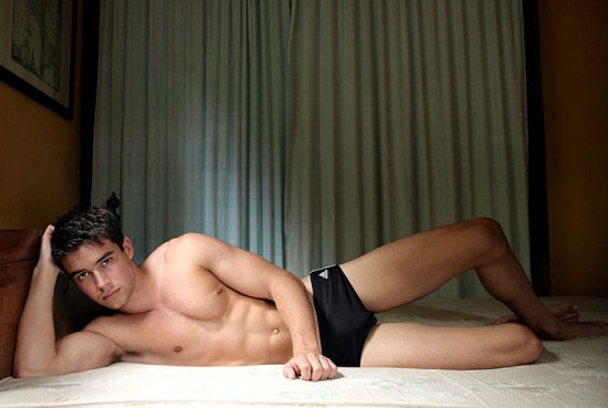 Bernardo Velasco Really Hot Package Oh my... Its Bernardo Velasco