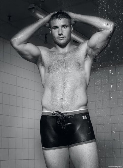 Ben Cohen - Wet Hairy Muscle Guy