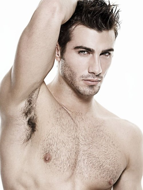 Justin Clynes Hairy and Handsome Stunning Model, Actor and Photographer Justin Clynes