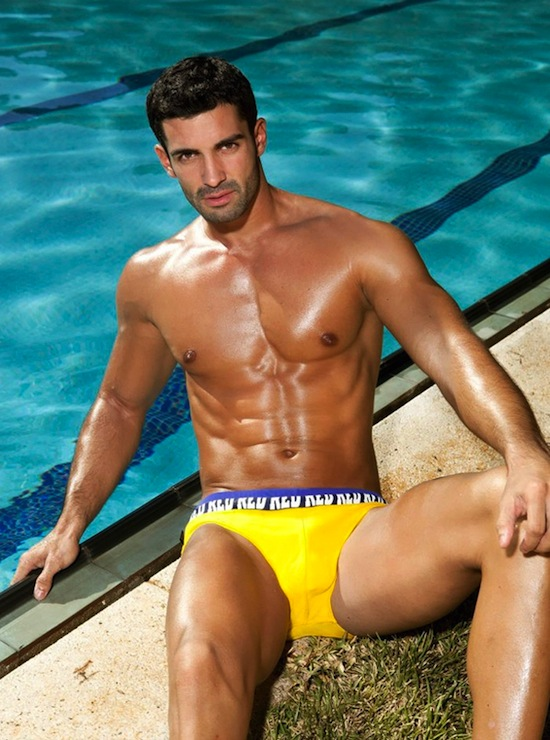 Isaac Cosculluela Swimwear Bulge 3 Wet Bulges   Isaac Cosculluela For RED