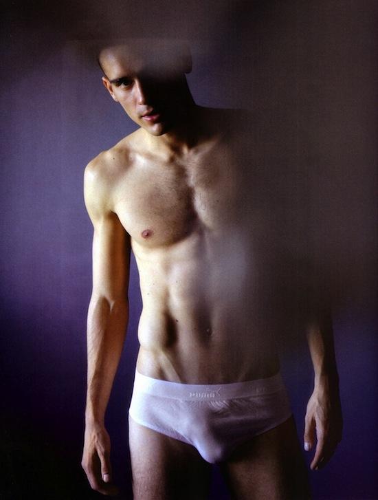 Arthur Kulkov in underwear