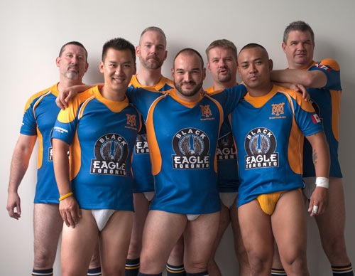 Gay Rugby - Muddy York Rugby Team (1)
