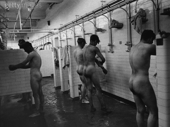 Men in the shower 7 Men In The Shower...