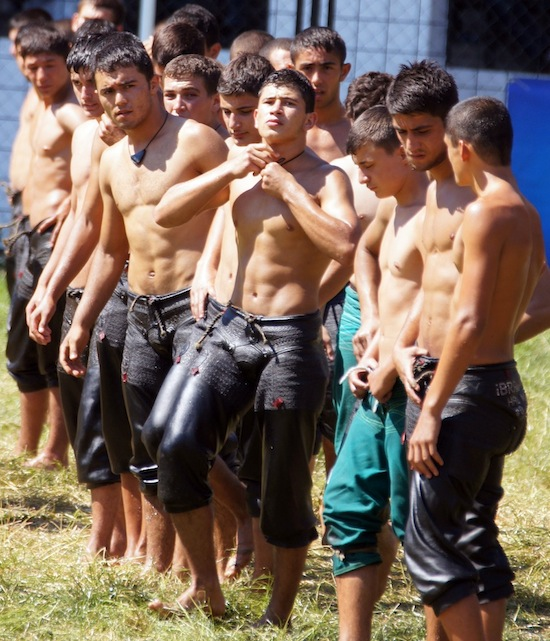 Turkish Male Oil Wrestling 1 You Think American College Wrestling Is Gay? You Aint Seen Nothing Yet!