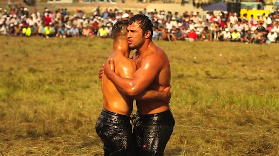 Turkish Male Oil Wrestling (6)