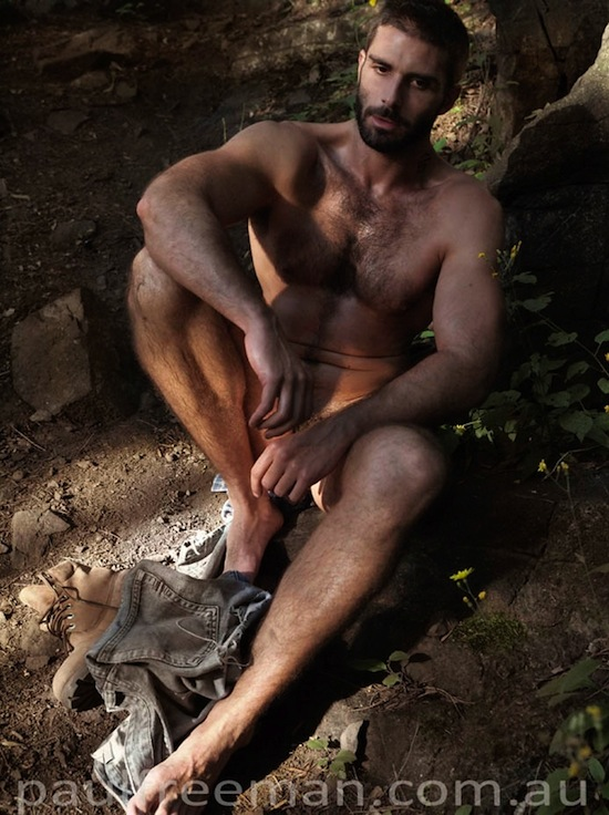 Hairy And Rugged Men Naked (2)