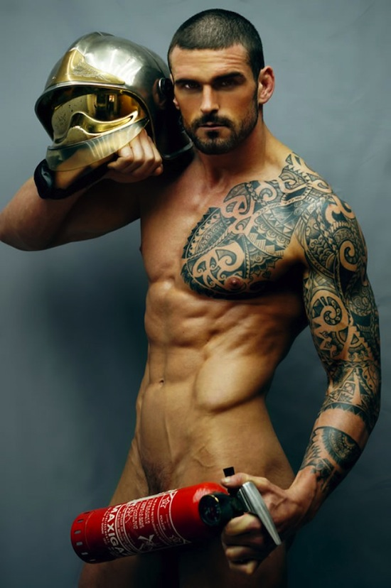 Ripped Rugby Hunk Stuart Reardon Naked 3 Ripped Rugby Hunk   Stuart Reardon Naked