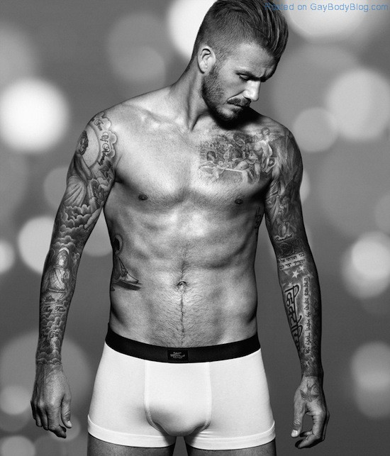 Pics of hunk David Beckham in underwear for H&M (3)