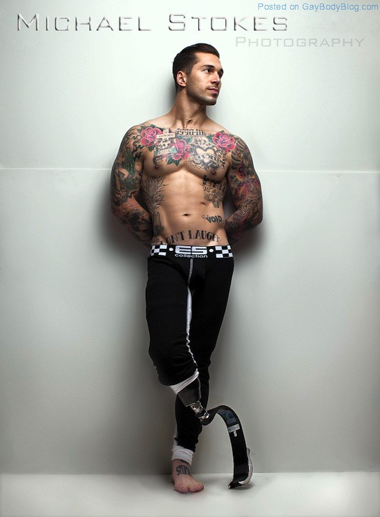 Inked And Muscled Marine Alex Minsky 3 Inked And Muscled Marine Alex Minsky