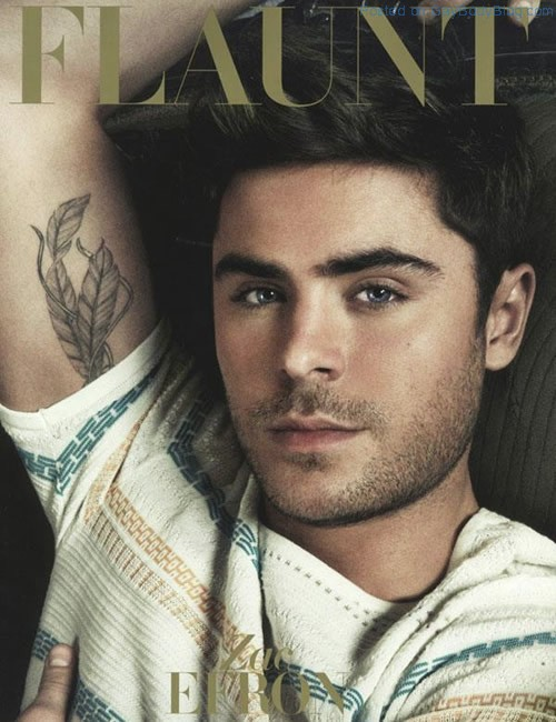 Zac Efron In Flaunt Magazine (1)