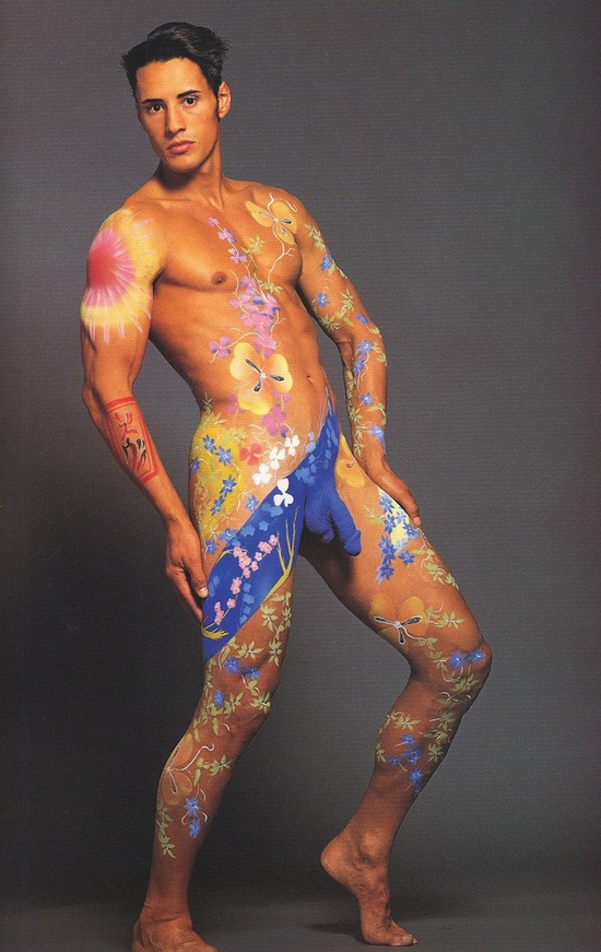 Sexy Male Body Painting 1