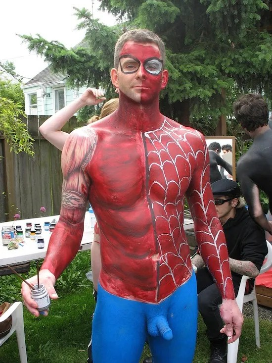 Sexy Male Body Painting 5