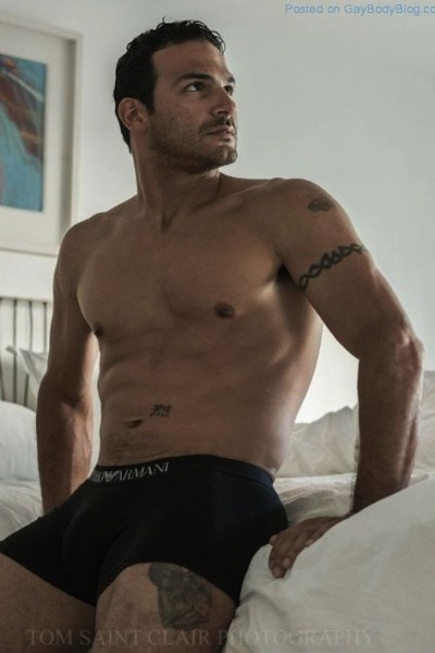 David Diaz Naked By Thomas Saint Clair (1)