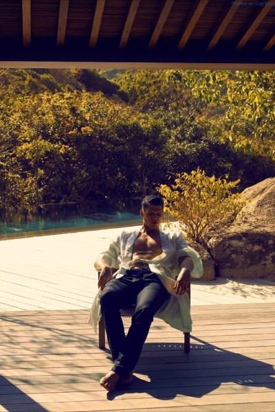 Brian Shimansky in the sun 8