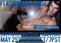 Live Photoshoot Chat On CamWithHim With DW Chase