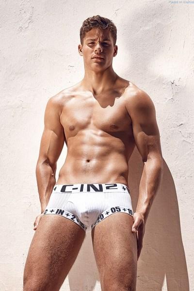British Jock Model Tyler Maher 1