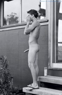 Random Naked Hunks Showing It All Off