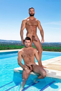Hung Hunks Dario Beck And Abraham Al Malek
