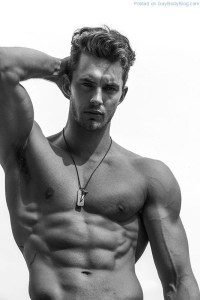 Christian Hogue Showing A Little Extra