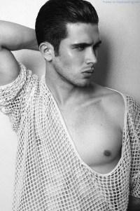 Smooth Male Model Leonardo Cichon by Manny Fontanilla