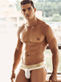 An Unknown Buff And Delicious Underwear Hunk