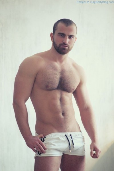 Bearish And Hot - Sergio Art Strips Off 6