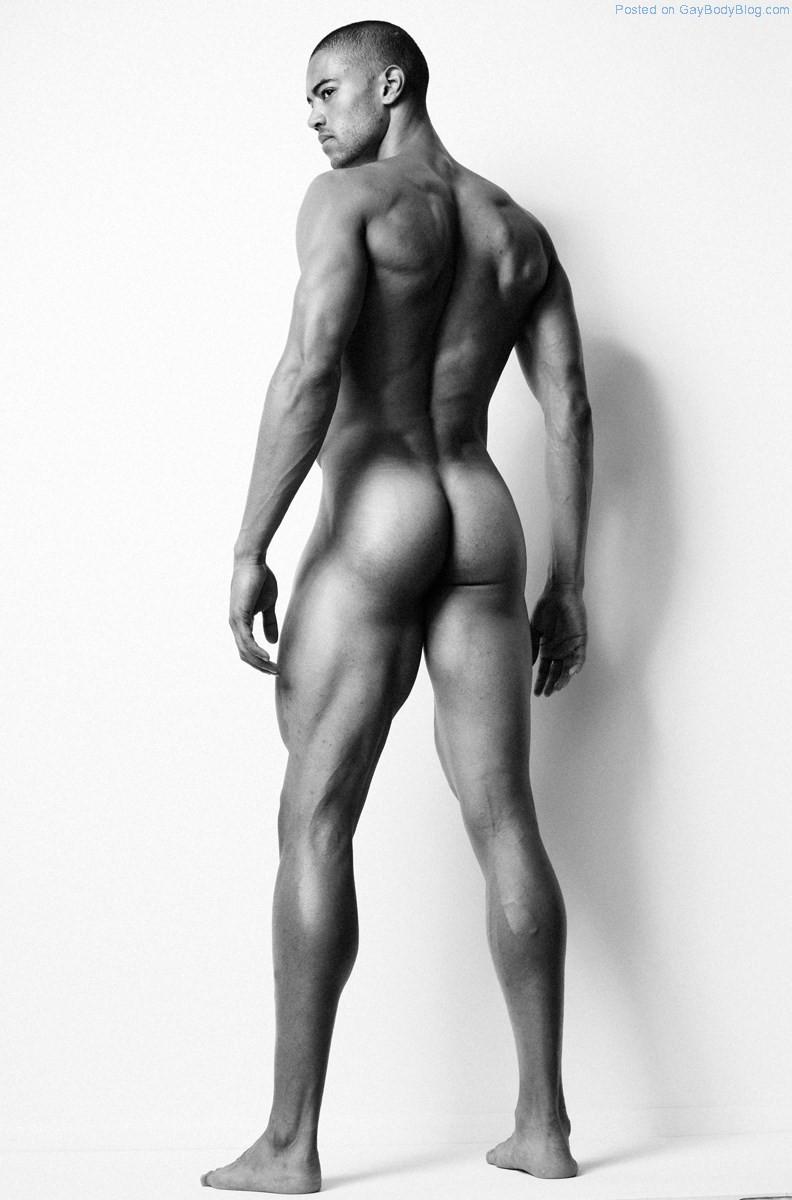Naked tall black men