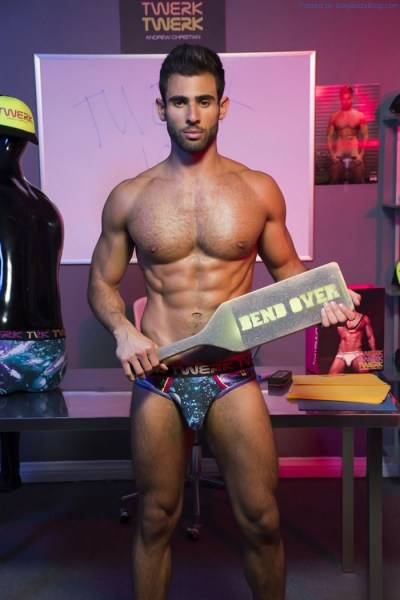 Would You Bend Over For Andrew Christian 5