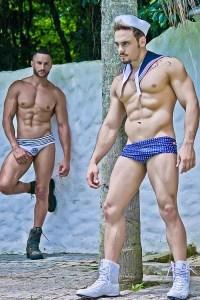 Able Seamen Fabio Santana And Junior Bryan!