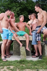 Something New - Gay Circle Sucking In The Woods