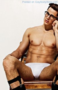 The Hairy Thighs And Sexy Bulge Of Pietro Boselli