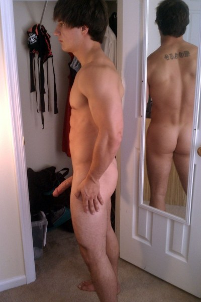 Gorgeous Jock With A Tempting Cock 1