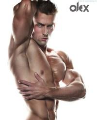 Musclebound Alex Allny By Sasha Kosmos