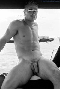Random Naked Men Showing Off