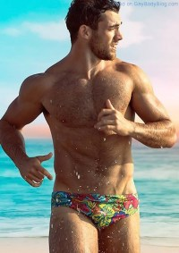 Who Is This Handsome Hunk Showing Off For aussieBum?