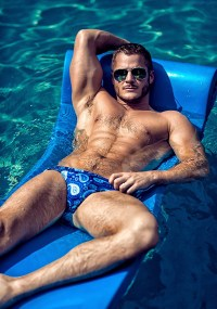 Getting Wet With Gorgeous Austin Armacost